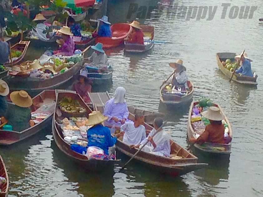 Thaka Floating  Floating Market