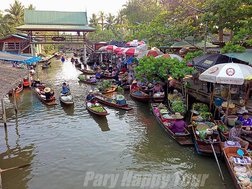 Thaka Floating  Floating Market Thaka Floating  Floating Market