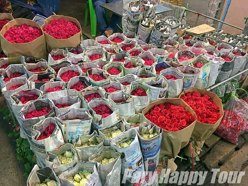 Flower & Vegetable Market