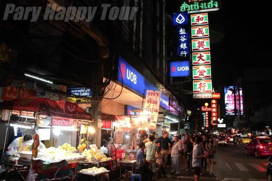 Bangkok at Night By Tuk Tuk Bangkok at Night By Tuk Tuk