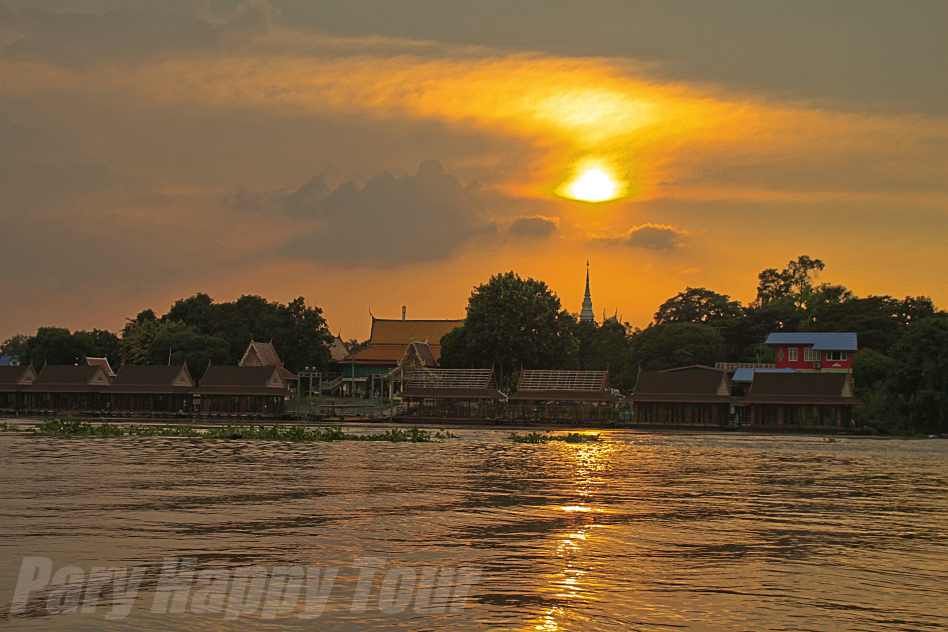 Ayutthaya Sunset Ayutthaya Sunset