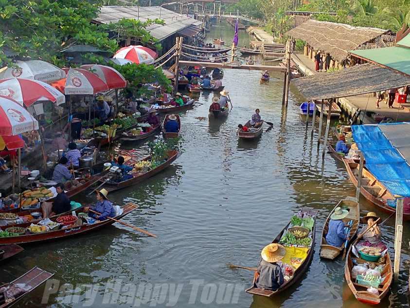 Thaka Floating Market & Amphawa Thaka Floating Market & Amphawa