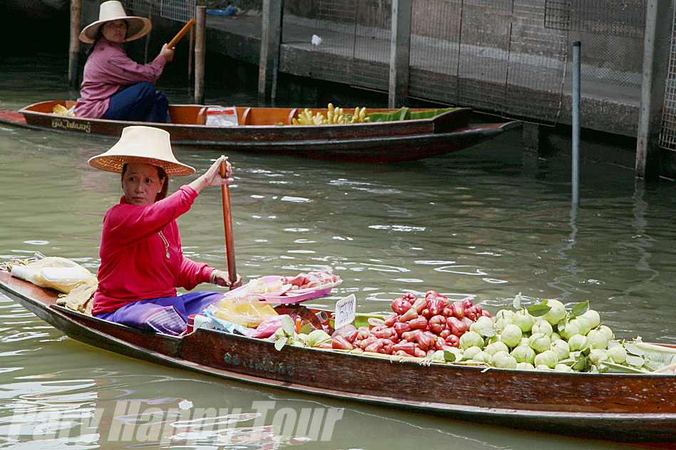 Floating  Market & Ayutthaya Floating  Market & Ayutthaya
